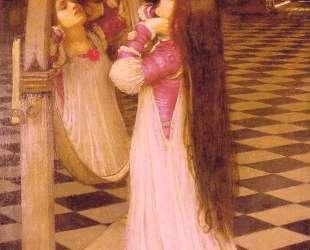 Марианна перед зеркалом — Джон Уильям Уотерхаус