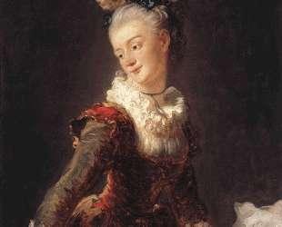 Marie Madeleine Guimard — Жан-Оноре Фрагонар