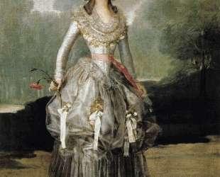 Marquesa Mariana de Pontejos — Франсиско де Гойя