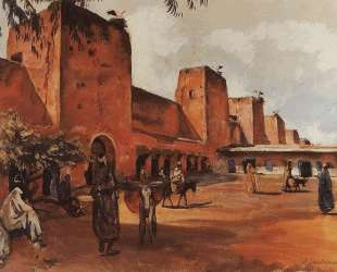 Марракеш. Стены и башни города — Зинаида Серебрякова