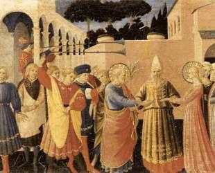 Обручение Девы Марии — Фра Анджелико