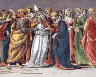 Marriage of the Virgin — Лука Синьорелли