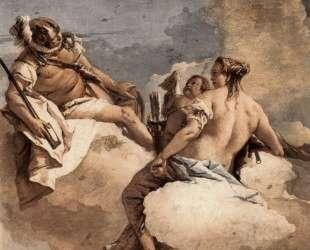 Mars, Venus and Cupid — Джованни Доменико Тьеполо