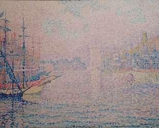 Marseille, an Old Port — Поль Синьяк