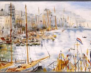 Марсельский порт — Моис Кислинг