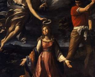 Martyrdom of Saint Catherine of Alexandria — Гвидо Рени