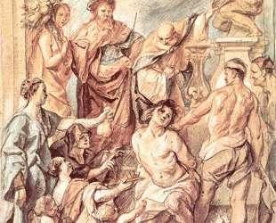 Martyrdom of St. Quentin — Якоб Йорданс
