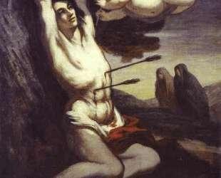 Мученичество Св. Себастьяна — Оноре Домье