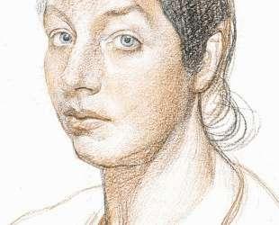 Маруся (Портрет жены художника) — Давид Бурлюк