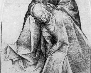 Мария и Иоанн у подножия креста — Иероним Босх