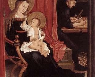 Mary and Joseph with Jesus — Бернхард Штригель