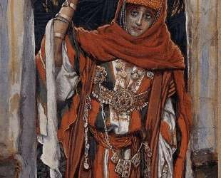 Mary Magdalene before her Conversion — Джеймс Тиссо