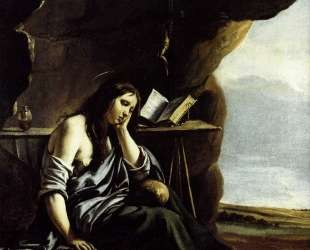 Mary Magdalene in Meditation — Братья Ленен