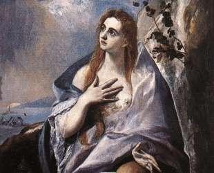 Покаяние Марии Магдалины — Эль Греко