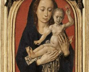 Mary with child — Хуго ван дер Гус