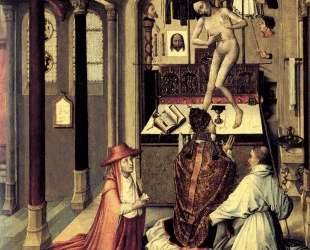 Mass of Saint Gregory — Робер Кампен