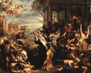 Massacre of the Innocents — Питер Пауль Рубенс