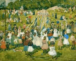 May Day, Central Park — Морис Прендергаст