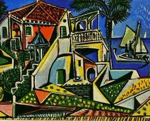 Mediterranean Landscape — Пабло Пикассо