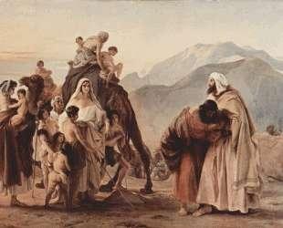 Meeting of Jacob and Esau — Франческо Хайес