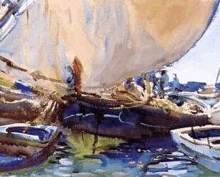 Melon Boats — Джон Сингер Сарджент