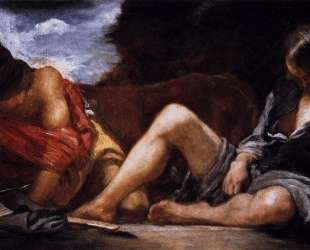 Mercury and Argus — Диего Веласкес