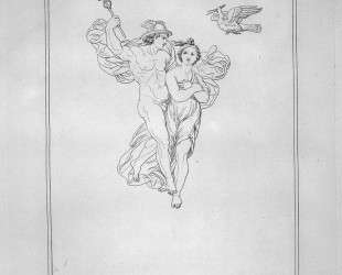 Mercury and Psyche — Джованни Баттиста Пиранези