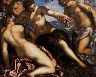 Mercury and the Graces — Тинторетто