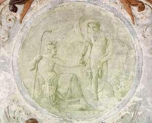 Mercury Gives Paris the Apple of Discord — Франческо Хайес