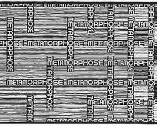 Metamorphosis II excerpt 1 — Мауриц Корнелис Эшер