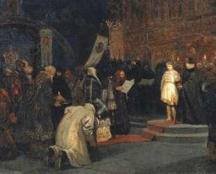 Призвание Михаила Федоровича на царство — Михаил Нестеров