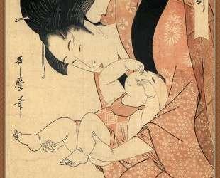 Midnight The Hour Of The Rat — Китагава Утамаро
