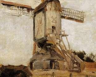 Ветряная мельница в Хеесвийке. Солнце — Пит Мондриан