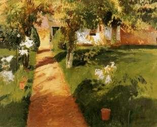 Millet's Garden — Джон Сингер Сарджент