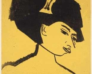 Milliner with Hat — Эрнст Людвиг Кирхнер