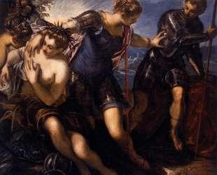 Minerva Sending Away Mars from Peace and Prosperity — Тинторетто