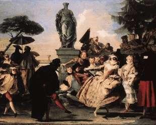 Minuet — Джованни Доменико Тьеполо