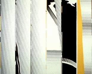 Зеркало шесть панелей №1 — Рой Лихтенштейн