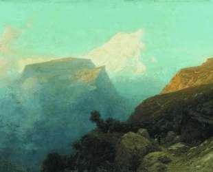 Mist in the mountains. Caucasus. — Лев Лагорио