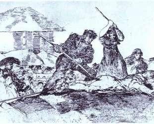 Mob — Франсиско де Гойя