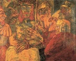 Mocking of Christ — Эмиль Нольде