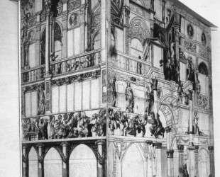 Model of the dance house in Basel — Ганс Гольбейн Младший