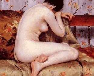 Modern Magdalen — Уильям Меррит Чейз