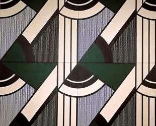 Модульная картина с четырьмя панелями, № 6 — Рой Лихтенштейн