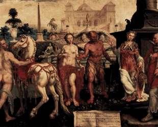 Momus Criticizes the Gods Creations — Мартен ван Хемскерк
