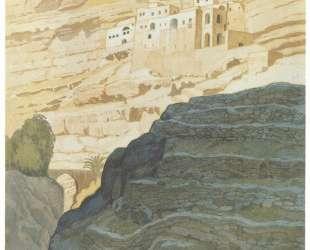 Монастырь св. Георгия Хосевита. Палестина — Иван Билибин