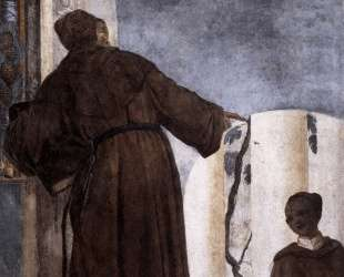 Monk with a Black Boy — Паоло Веронезе