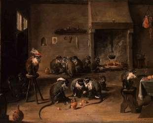 Monkeys in a Kitchen — Давид Тенирс Младший