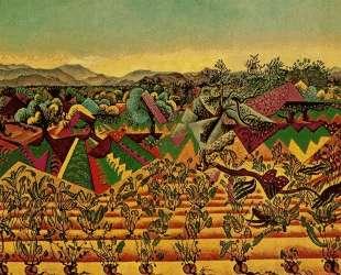 Mont-roig Vineyards and Olive Tree — Жоан Миро