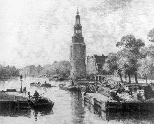 Montelbaanstoren In Amsterdam — Корнелис Вреденбург